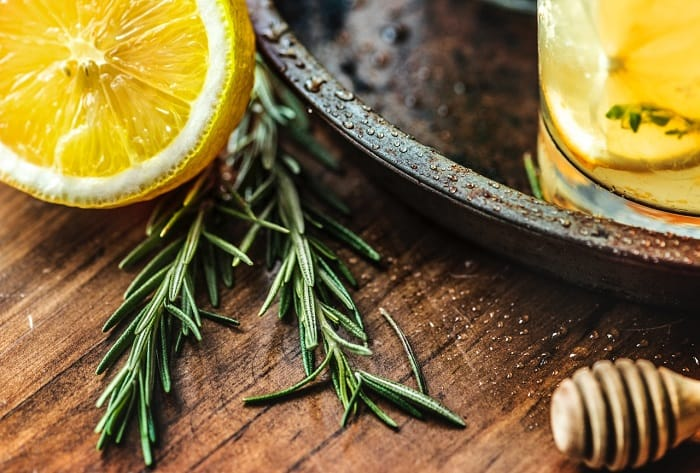 lemon juice scrub diy