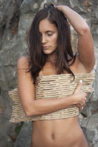 woman doing skin rituals