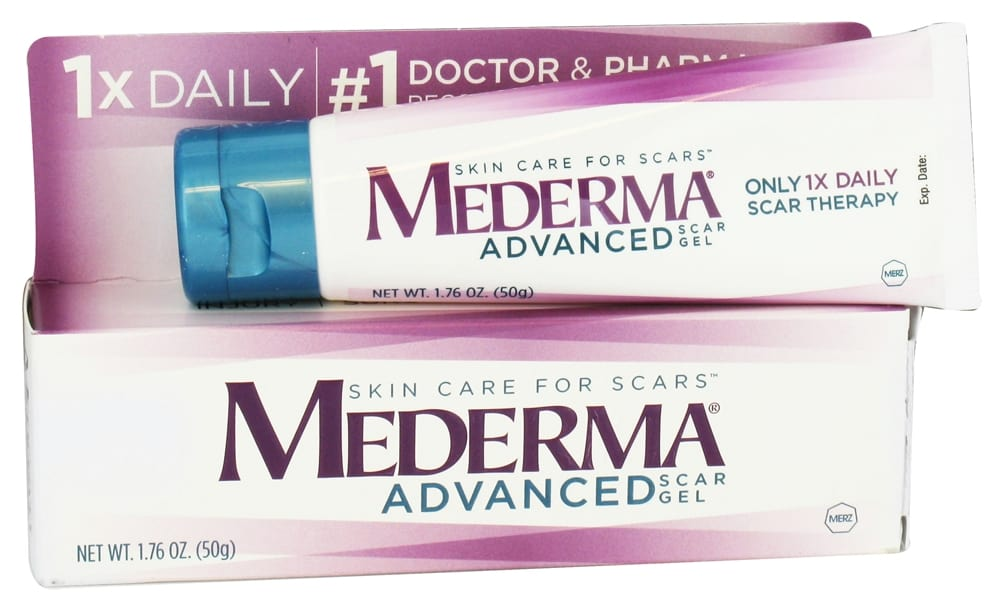 Mederma Advanced Scar Gel Goodbye Scars