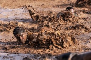 Soldiers Army Basic Training Mud