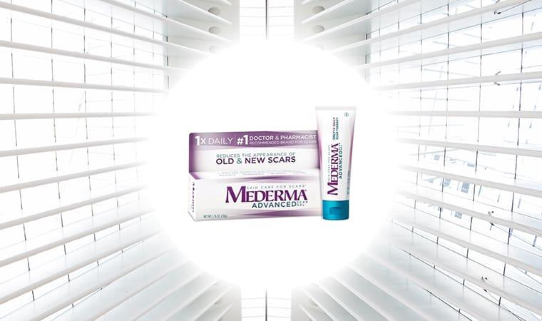 Mederma Advanced Scar Gel Goodbye Scars