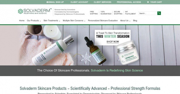 solvaderm website